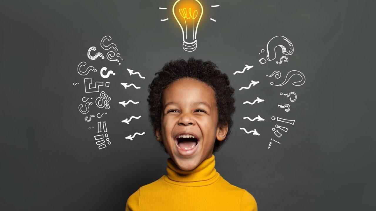 Very happy active kid - CollegeMarker