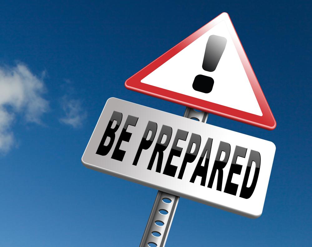 be prepared written on hoarding - CollegeMarker