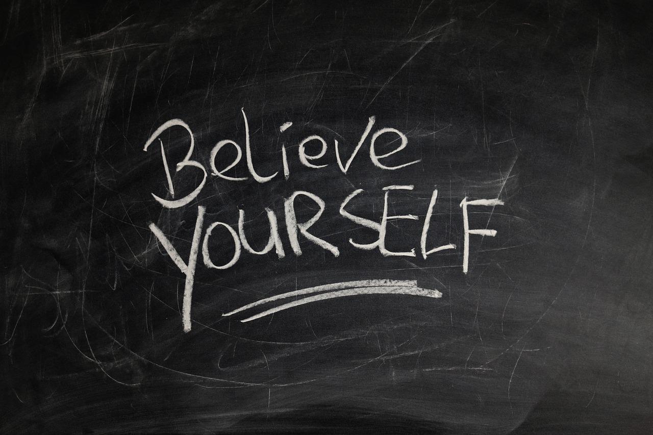 Believe in yourself - CollegeMarker