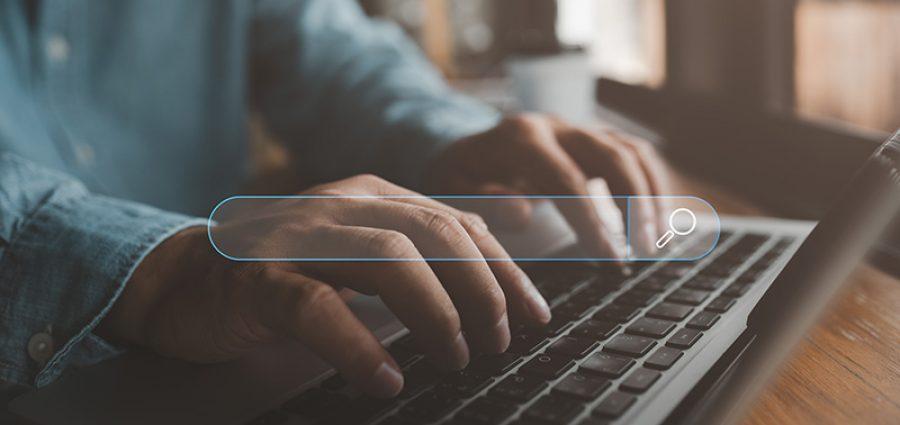 person typing in keyboard - CollegeMarker